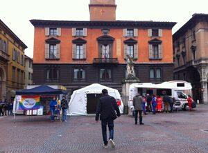 Test day a Piazza Prampolini (Reggio Emilia)