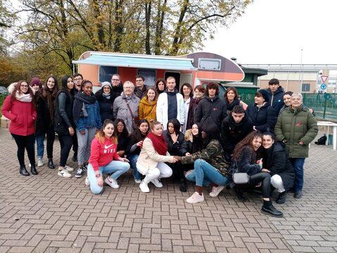 Iniziativa per la prevenzione con i ragazzi dell'Istituto P.Giordani a Parma